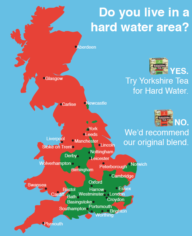 Do you live in a hard water area?